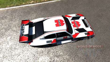 Ford Capri Zakspeed Turbo Group 5 para BeamNG Drive