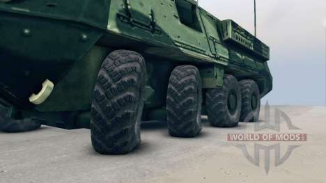 Stryker para Spin Tires