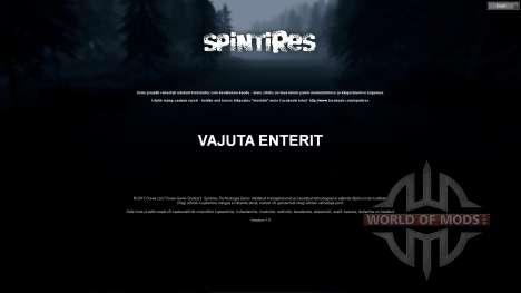 El estonio traducción para Spin Tires