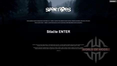 Traducción de eslovaco para Spin Tires