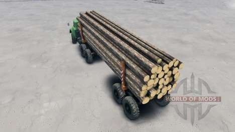 El remolque-disolución TMZ-UN para Spin Tires