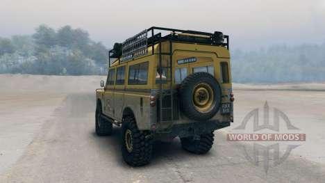 Land Rover Defender Camel para Spin Tires