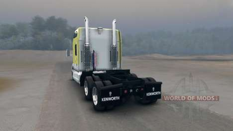 Kenworth T600 para Spin Tires