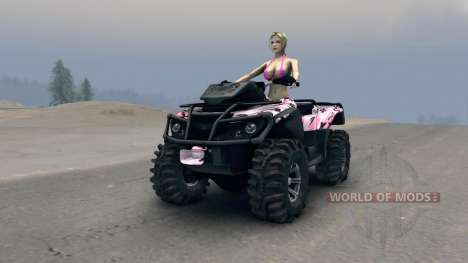 ATV Outlander v2 para Spin Tires