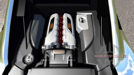 Audi R8 Chrome para BeamNG Drive