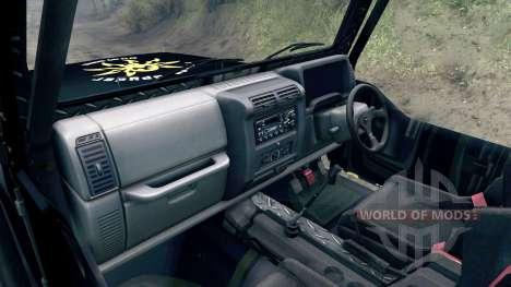 Jeep Wrangler SID para Spin Tires