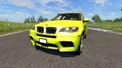 BMW X5M Yellow