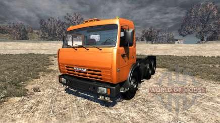 KamAZ-65115 para BeamNG Drive