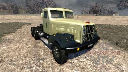 Kraz-258 para BeamNG Drive