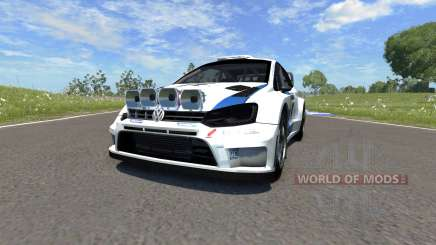 Volkswagen Polo R WRC para BeamNG Drive