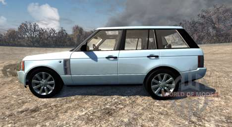 Range Rover Supercharged 2008 [White] para BeamNG Drive