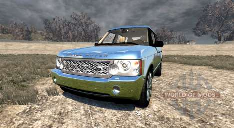 Range Rover Supercharged 2008 [Chrome] para BeamNG Drive