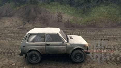VAZ 2121 Niva v1.0 para Spin Tires