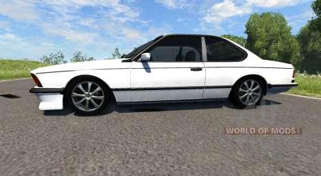 BMW E24 M6 para BeamNG Drive
