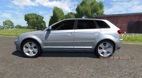 Audi A3 para BeamNG Drive