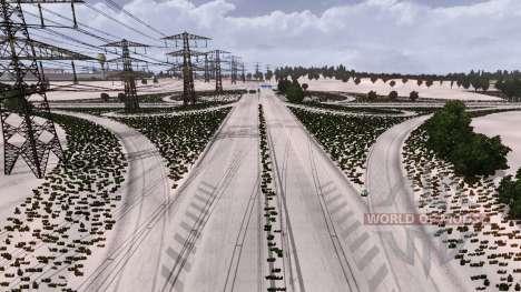 Invierno para Euro Truck Simulator 2