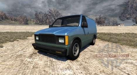 Gavril H-Series Mini Van para BeamNG Drive
