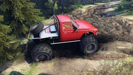 Toyota Hilux Truggy v0.9.1 para Spin Tires