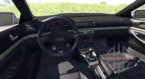Audi S4 2000 [Pantone Purple C] para BeamNG Drive