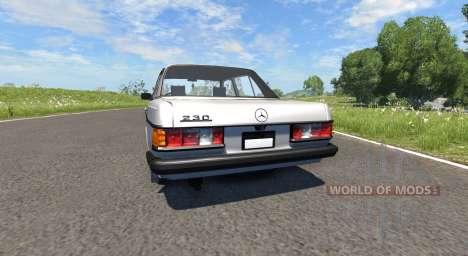 Mercedes-Benz 230 W123 para BeamNG Drive