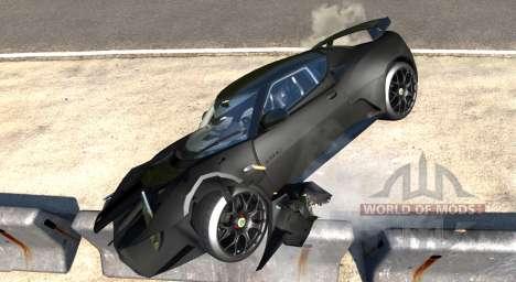 Lotus Evora GTE 2011 [Black] para BeamNG Drive