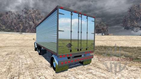 ZIL-V con semirremolque para BeamNG Drive