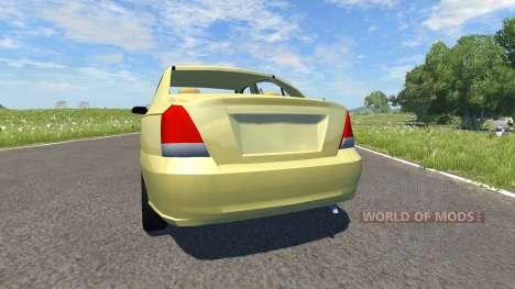 Hyundai Elantra para BeamNG Drive