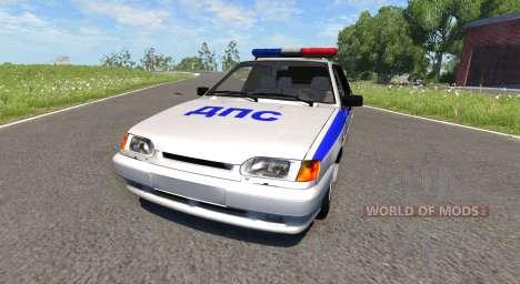 VAZ-2115 de la Policía para BeamNG Drive