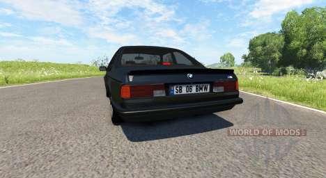 BMW E24 M6 v1.1 para BeamNG Drive