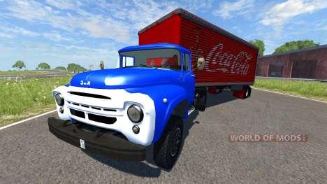 ZIL-V con punto de Coca-Cola para BeamNG Drive