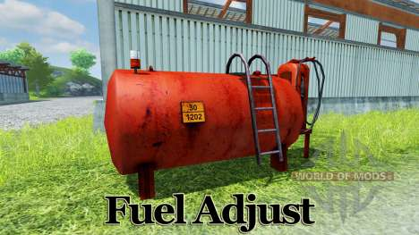 Fuel Adjust para Farming Simulator 2013