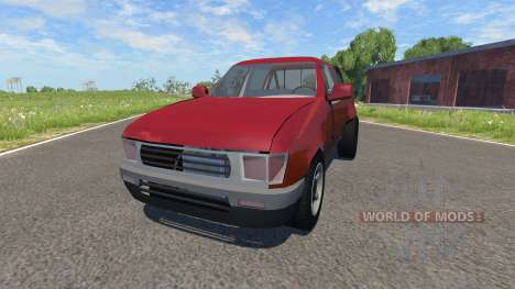 Toyota Hilux para BeamNG Drive