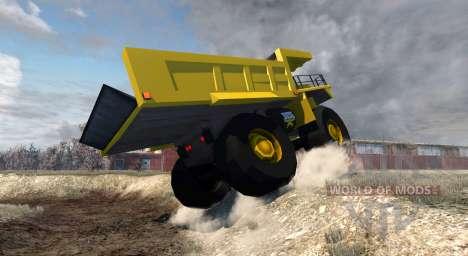 Dumper Minero para BeamNG Drive