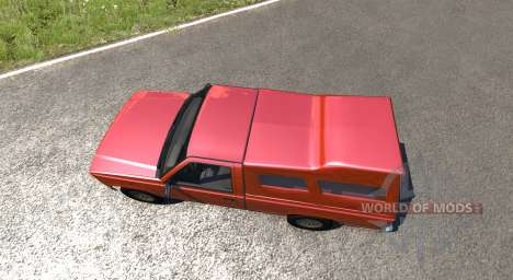 Gavril D-Series Pickup Hatch para BeamNG Drive