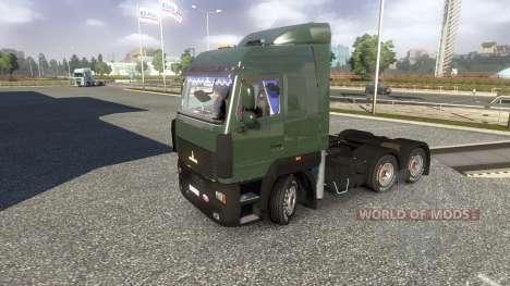 MAZ-5440 A5 para Euro Truck Simulator 2