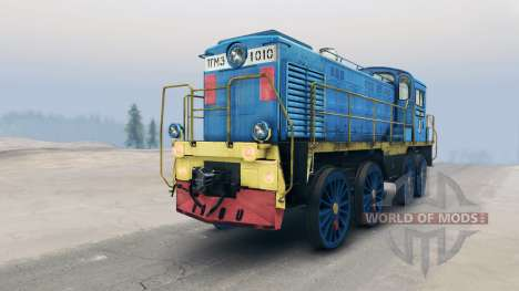 Locomotora TGM para Spin Tires