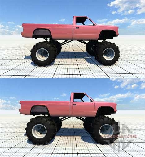 Gavril D-Series Monster Truck v2 para BeamNG Drive