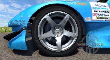Mazda RX-7 Drift GReddy para BeamNG Drive
