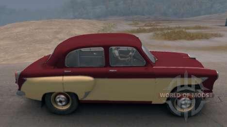 Moskvich 407 para Spin Tires