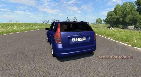 Kia Ceed para BeamNG Drive