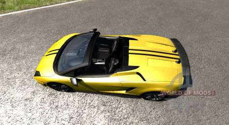 Lamborghini Gallardo LP570-4 Spyder v1.1 para BeamNG Drive