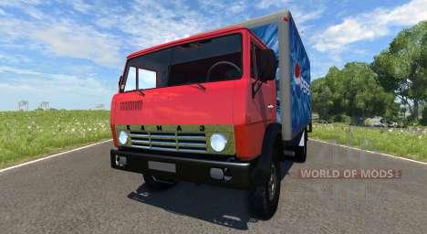 KamAZ-5325 Pepsi para BeamNG Drive