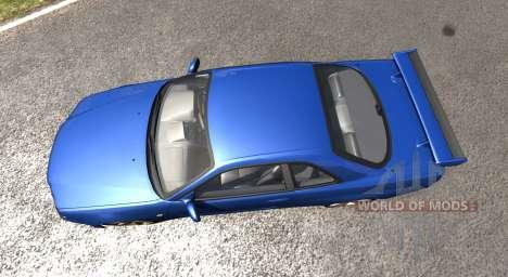 Nissan Skyline R34 para BeamNG Drive