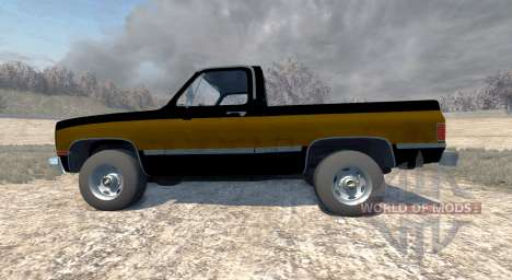 Chevrolet Silverado 1500 1986 para BeamNG Drive