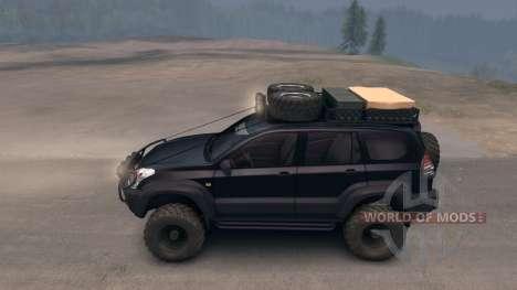 Toyota Land Cruiser Prado Extreme v.3.0 para Spin Tires