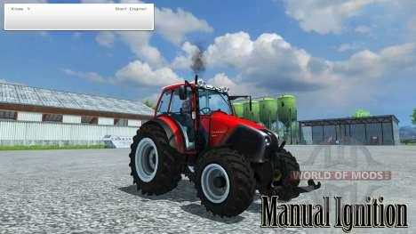 De la mano de encendido para Farming Simulator 2013
