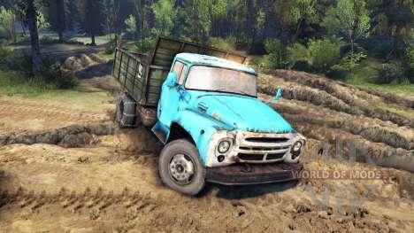 Los automóviles ZIL-MMZ-4502 para Spin Tires