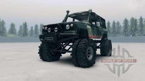 UAZ-3172 para Spin Tires