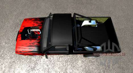 Gavril D-Series DRAG para BeamNG Drive
