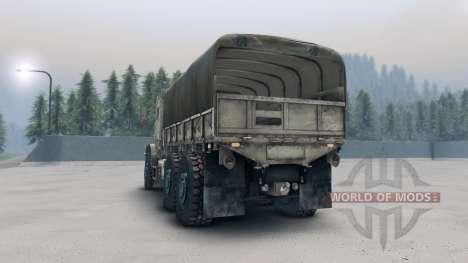Oshkosh MTVR MK23 wheels v1 para Spin Tires